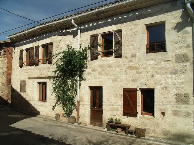 Maison authentique de village - Le Verdier - Ev