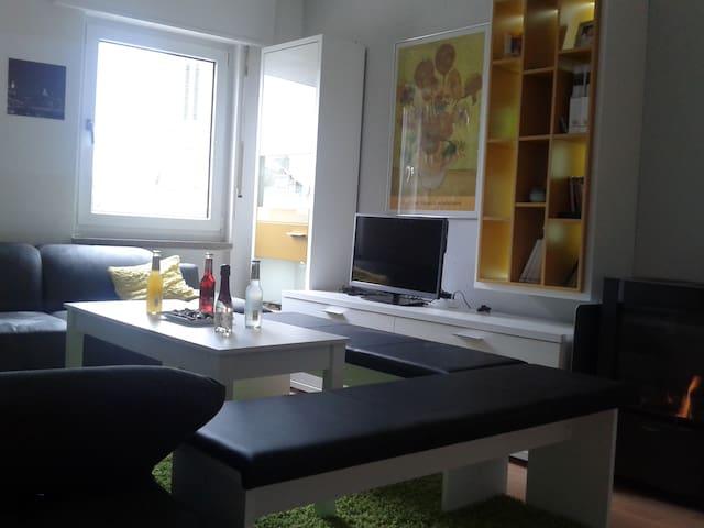 Gemütliche Wohnung - Innenstadt - Kaiserslautern - Leilighet