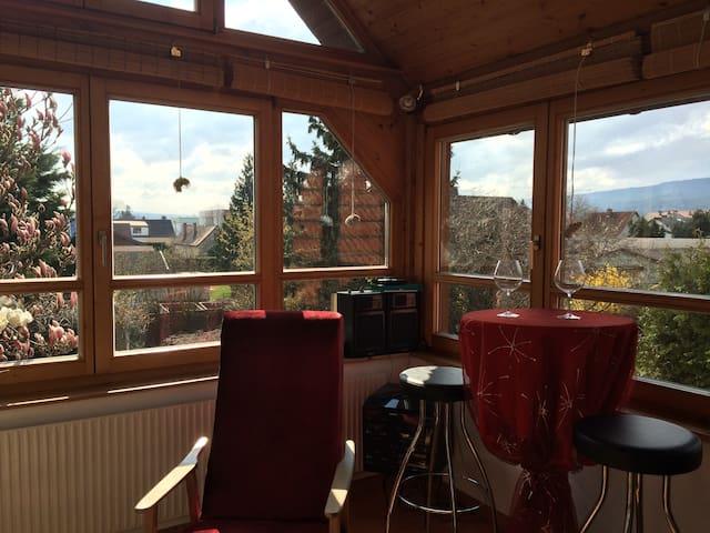 Ländliche Wohnung in Stadtnähe - Neudörfl - Appartement