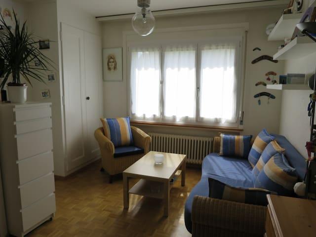 Cozy 1 room flat - Köniz - Apartment