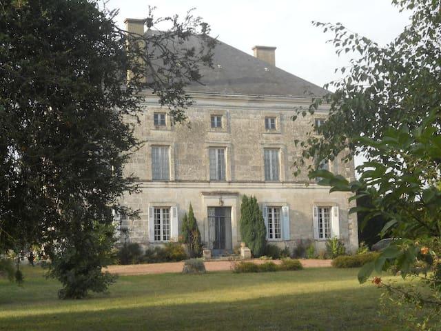 Logis de la Cantinolière - Villefagnan - Ev