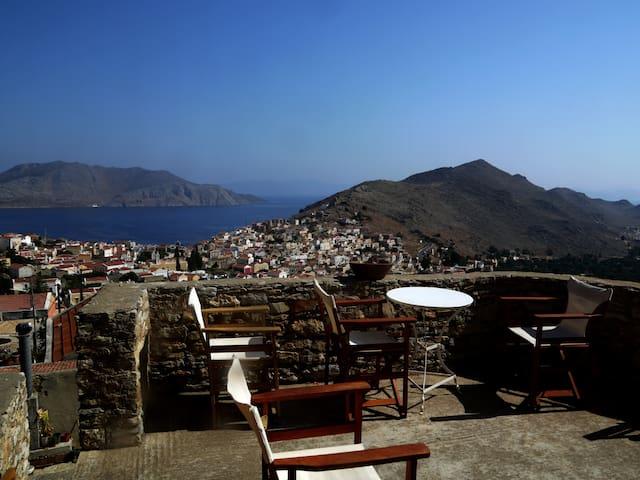 SymiView: Breathtaking Aegean view - Symi