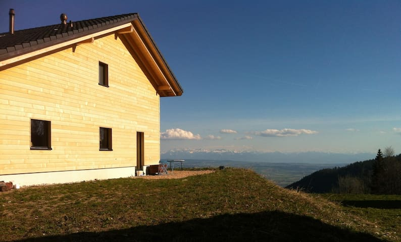 Fantastic view over the Alps - Les Rasses