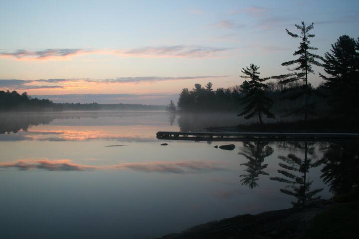 The Dragonfly - Muskoka - Tea Lake - Coldwater - Camper