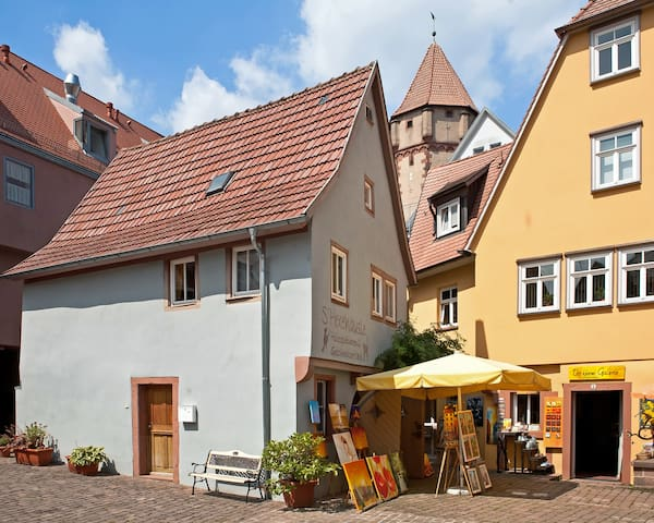 einzeln stehendes Fachwerkhaus - Wertheim - Hus