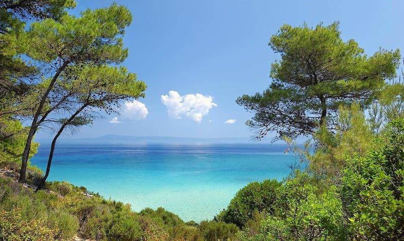 Summer Villa - Gorgeous beach - Κρυοπηγή - Vila
