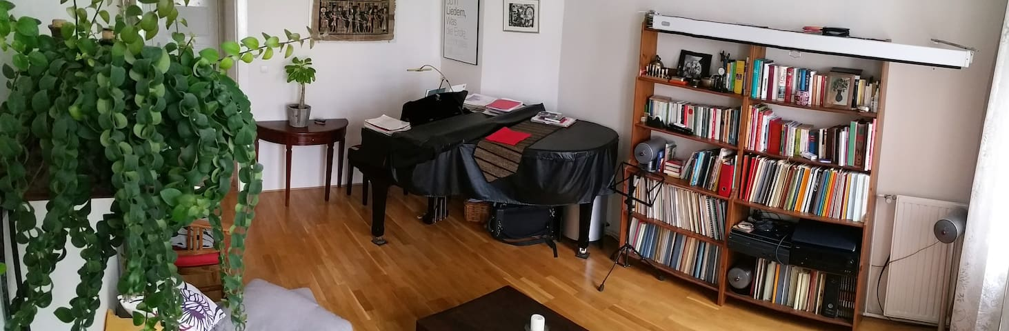 3,5 room apartment with piano - Berlin - Apartemen