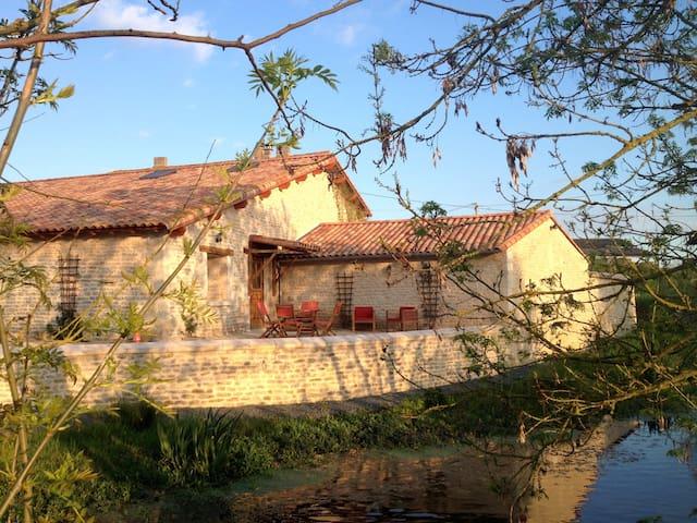 Studio au coeur du marais Poitevin - Coulon - Leilighet