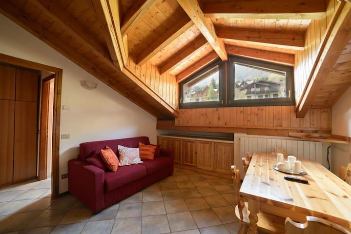 Nice and cozy apt - Ponte di Legno - Daire