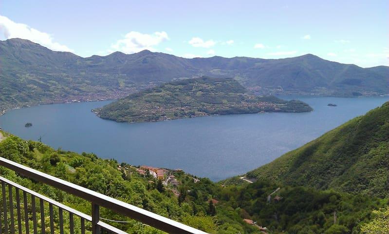 Romantico Appartamento  lago d'Iseo - Parzanica - Lejlighed