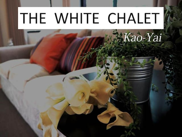 The White Chalet 5 Bedroom House - Tambon Mu Si - Casa