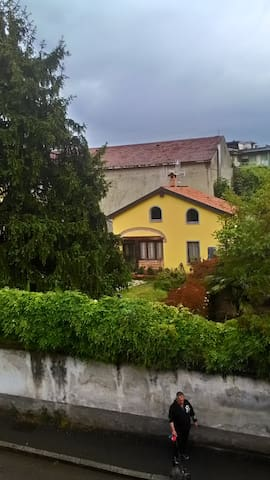 casa indipendente con giardino - Cassano d'Adda - Hytte