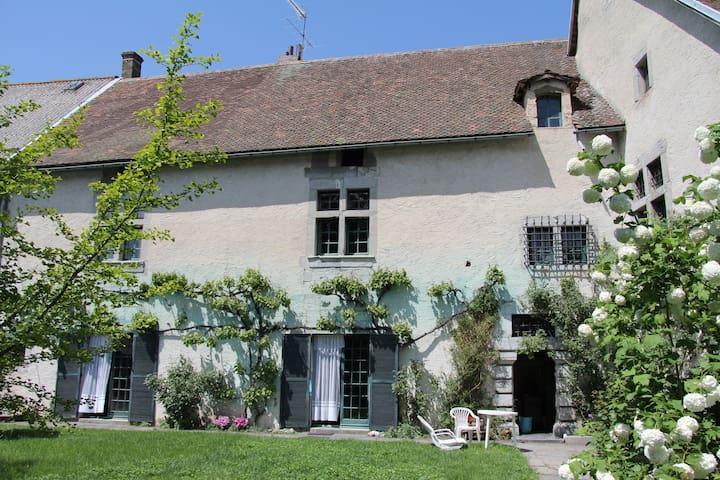 Ancienne demeure du 17ème siècle,pleine de charme. - Sousville - Talo
