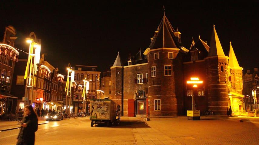 View on the Best Amsterdam square! - 阿姆斯特丹 - 公寓