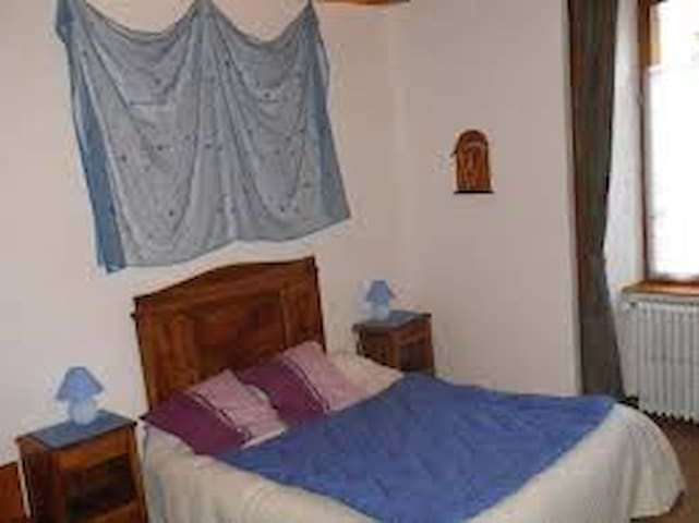 Chambre bleu du 1er étage - Peyrusse - Bed & Breakfast