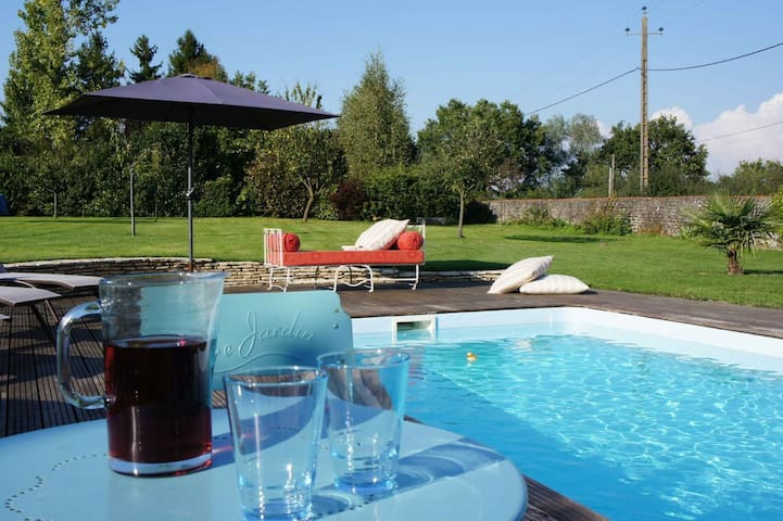 Holiday home with swimming pool - Fours - Hus