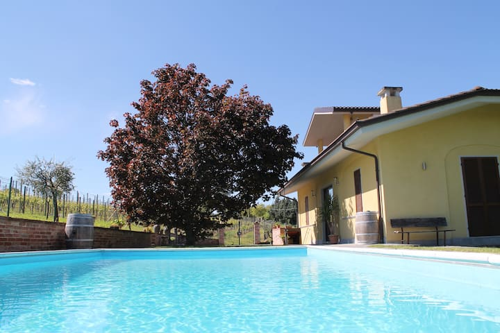Relax surrounded by UNESCO hills - Guarene