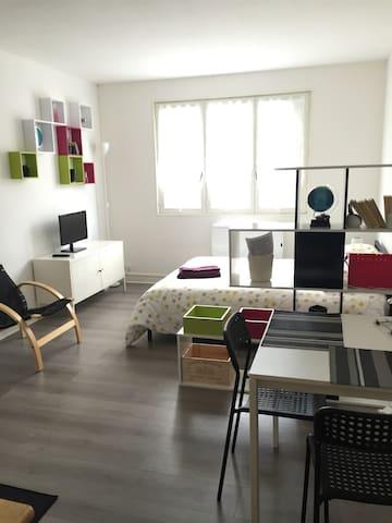Large studio to 25min from Paris - Brétigny-sur-Orge
