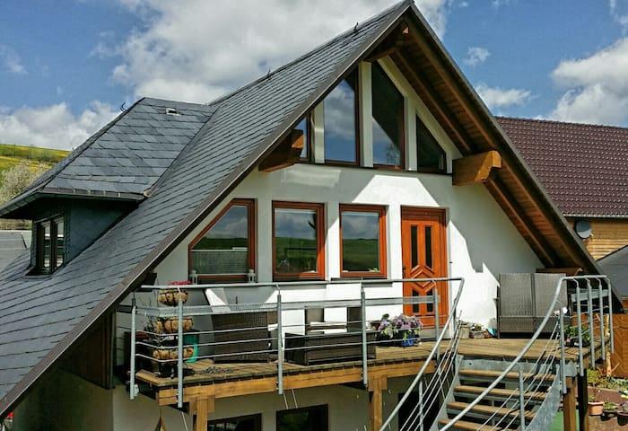 5 Sterne Ferienwohnung am Rennsteig - Oberland am Rennsteig