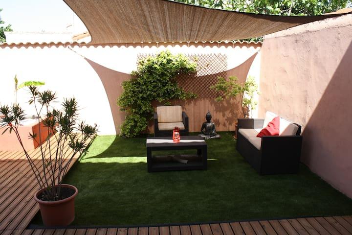 Villa paisible 100 m2 - Narbonne - Hus