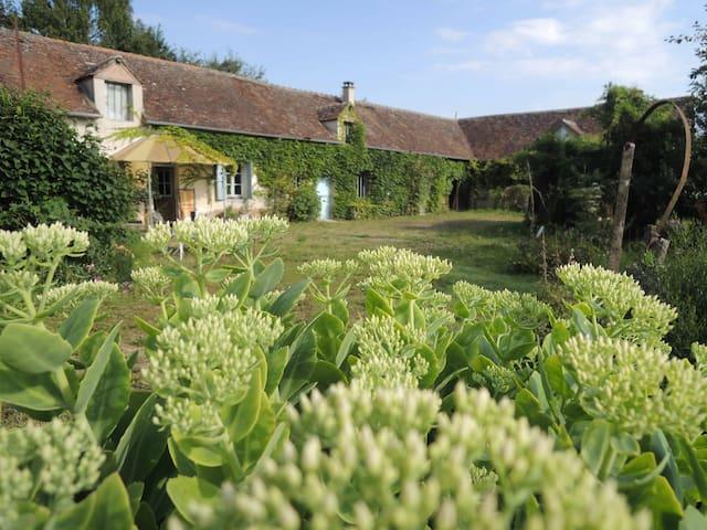 La Maison dans les Champs du Loiret - Villemoutiers - Hus