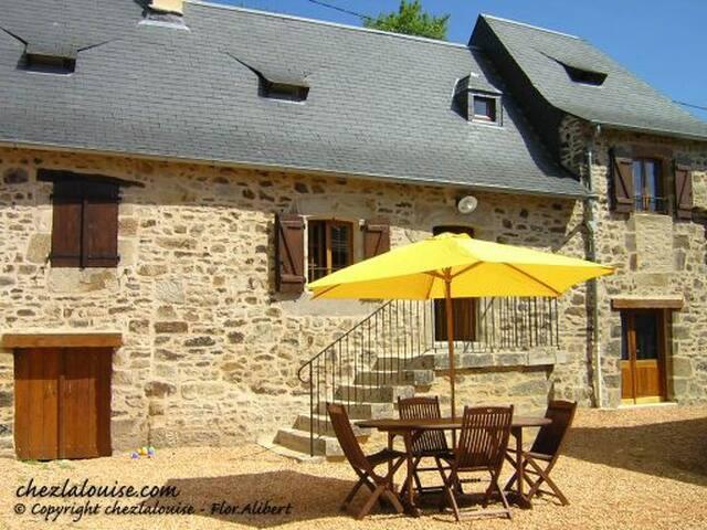 CHEZ la LOUISE gite PERIGORD NOIR - Terrasson-Lavilledieu - Huis