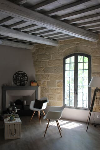 Sumptuous loft in the heart of Uzès - Uzès - Lägenhet