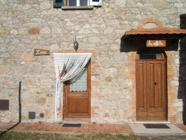 Torniella (GR) - Toscana Appartamento La Soffitta - Torniella - Daire