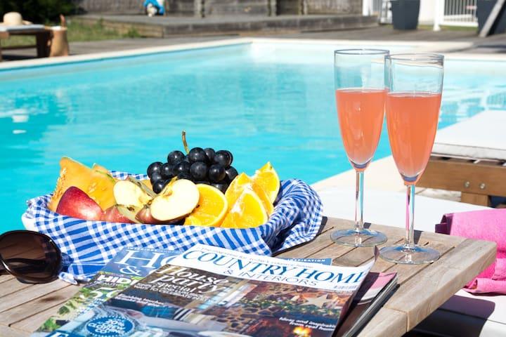 5 bed villa, private heated pool - Saint-Benoist-sur-Mer - Villa