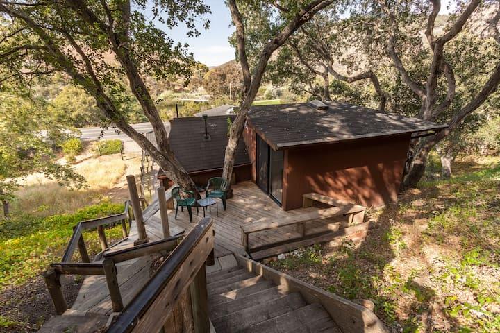 """The Treehouse""/studio in the oaks - Avila Beach - Appartement"