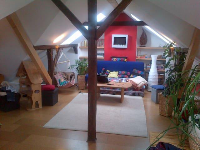 Kinderfreundlicher Dachboden - Georgsmarienhütte - Apartamento