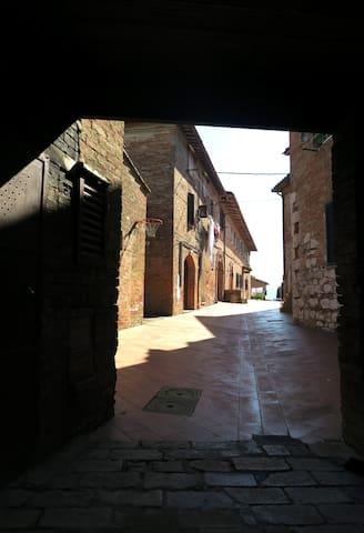 Medieval village next to Siena - Sovicille