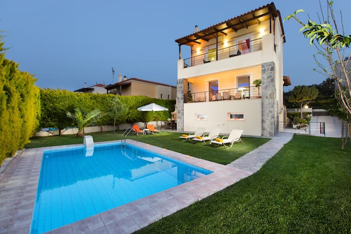 Villa Mario - 1 km away from Beach  - Rethymno - Casa