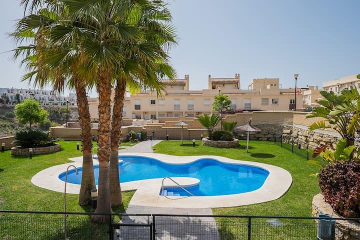 Lovely house on the beach, Málaga. - Vélez-Málaga - Casa