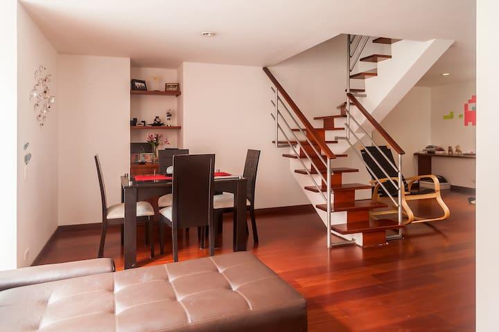Lovely room Duplex apartament - Bogotá - Apartamento