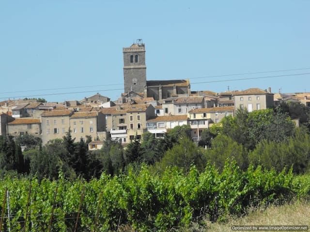 small village in south-west france - Azille - Rekkehus