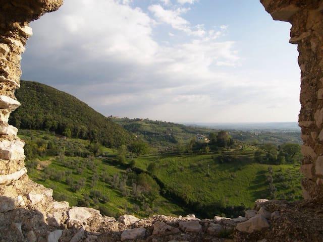 Incantevole borgo medievale - Poggio Catino - บ้าน