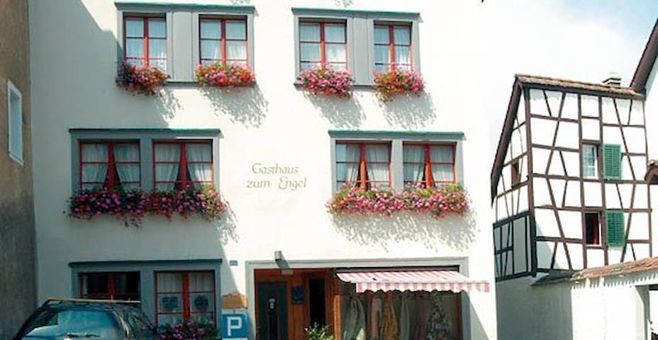 Central, quaint, quiet & breakfast - Feuerthalen - Bed & Breakfast