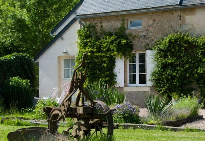 Le Laurier, cottage for naturists - Champallement - Hus