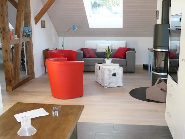 Ferienwohnung Chretzer 200m vom See - Ermatingen - Appartement