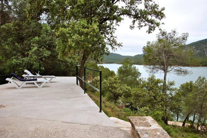 Finca with terrace view! good way for motos - Beceite