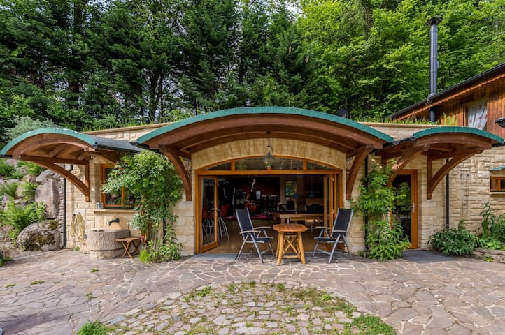 House in the forest - Heiligkreuzsteinach - Pension