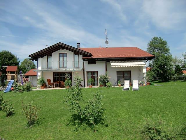 FeWo Bergruah für bis zu 3 Personen - Bad Bayersoien - Huis