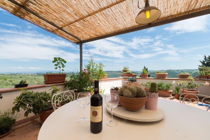 Loft in Torre del Tasso for sight and taste - Romola - Loft