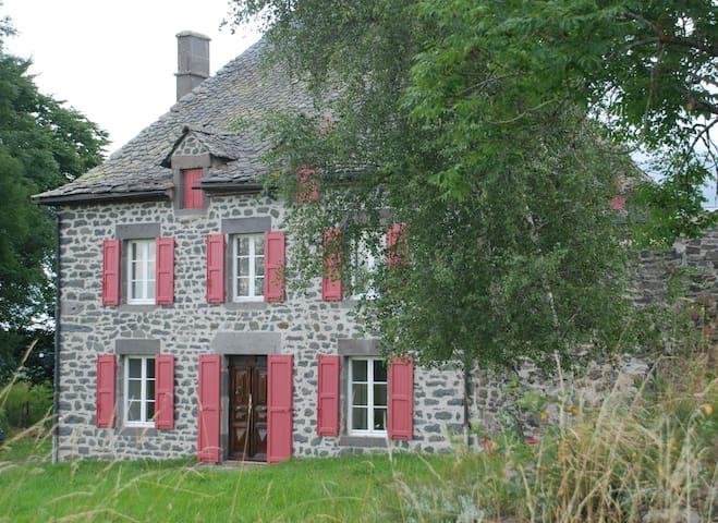Le Credos Maison de caractère 1856 - Marcenat - Huis