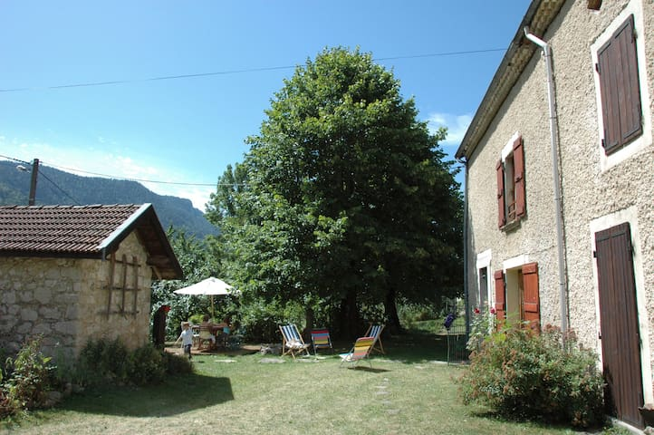 Renovated for small friendly tribe - St agnan en Vercors - Casa