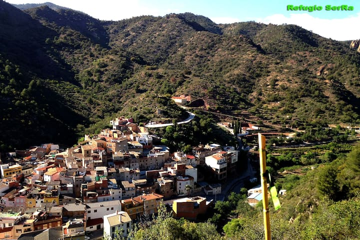Refugio en pueblo rural. - Alfondeguilla - Andere