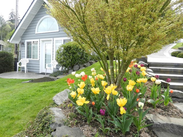 Waterfront Guest Cottage - Gig Harbor - Casa