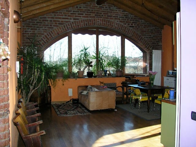 Barn House at 15 minutes from Milan - Casarile - Maison