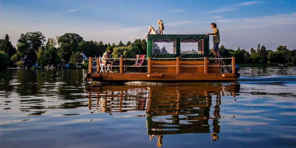 Urlaub auf dem Floß - Heidesee - Båt